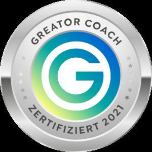 Greator Coach certificate